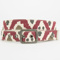Nixon Tree Hugger Belt Red Combo