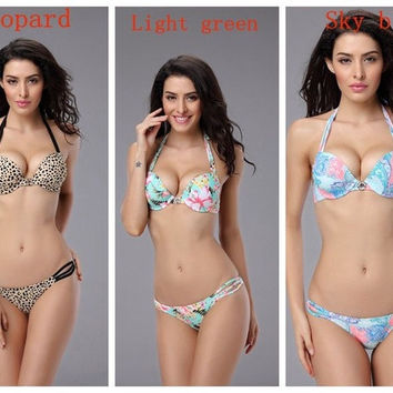 Women's Bandage Bikini Set Push-up Padded Bra Swimsuit Bathing Suit Swimwear Beach wear 2014 NEW ARRIVAL = 1705269956