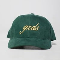 "The Forrest Green brush ""Gxds"" dad crown"