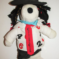 Vintage 1980's Boy George Culture Club Snoopy