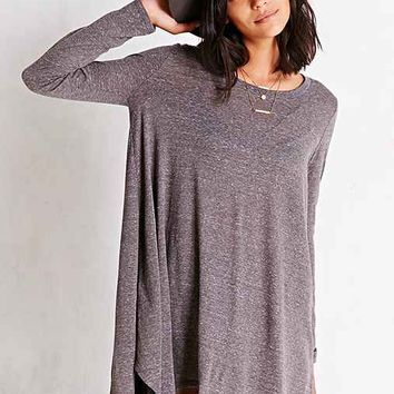 BDG Heathered Shark Bite T-Shirt Dress-