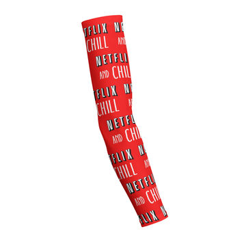 NETFLIX AND CHILL Shooting Arm Sleeve