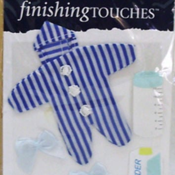 Scrapbook Embellishment - Baby Boy