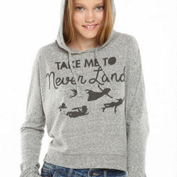Peter Pan Take Me to Never Land Hoodie
