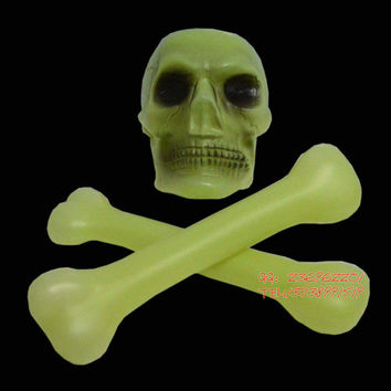Halloween Ghost House Decoration Skull Bone Simulation skeleton Devil Mummy Chamber escape scary party decoration