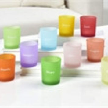 Votive inspirational candle holders