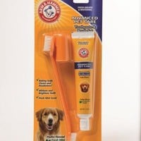 Arm & Hammer Dog Toothpaste & Brush Kit