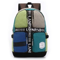Vere Gloria Teens Hit Colors School Backpacks Bags Casual Candy Style Back Packs for Middle High School College Students