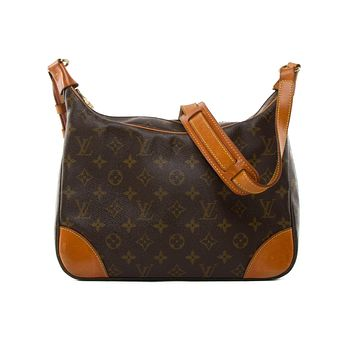 Tagre™ Authentic Louis Vuitton monogram canvas Boulogne 30 shoulder bag
