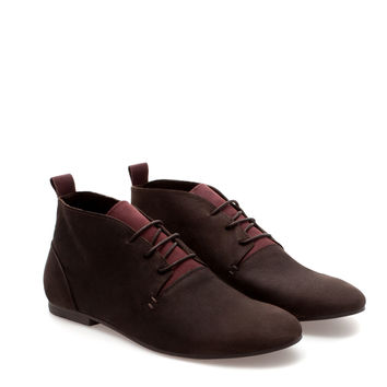 SOFT ANKLE BOOT - Shoes - Man | ZARA United States
