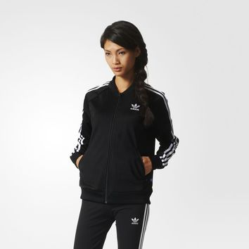 adidas Supergirl Track Jacket - Black | adidas US
