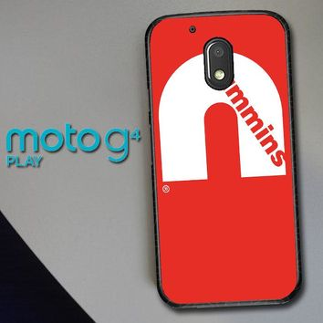Cummins Logo V0407 Motorola Moto G4 Play Case