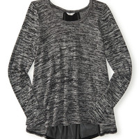 Aeropostale  Long Sleeve Godet Knit Top