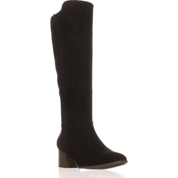 SC35 Finnly Knee High Boots, Black, 6 US