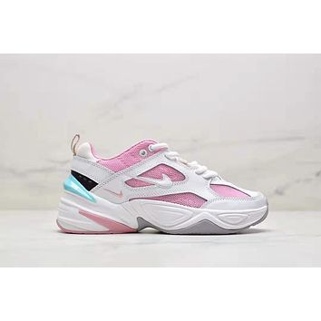 NIKE WMNS M2K Tekno Fashion New Hook Sports Leisure Contrast Color Shoes Women