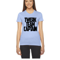 twerk team captain (2) - Women's Tee