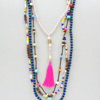 The Gracie Bohemian Layer Necklace