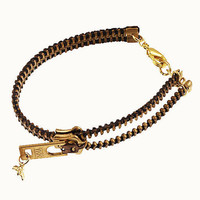 Zipper Bracelet - Black