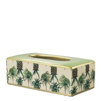 Porcelain Tissue Box | Eichholtz Pineapple