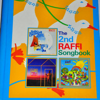 Raffi Songbook. The 2nd Raffi Songbook, 1986. Children's Singalong Music Book