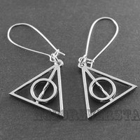 Deathly Hallows Silver Earring