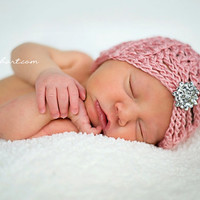 Crochet Pattern for Mia Beanie Hat - 5 sizes, baby to adult - Welcome to sell finished items