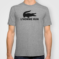 L'Homme Run T-shirt by Katelyn