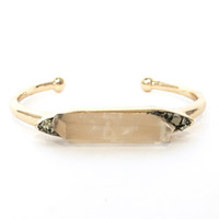 Earthly Spirit & Stone Bangle Bracelet