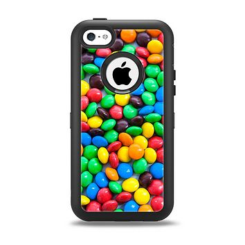 The Colorful Candy Apple iPhone 5c Otterbox Defender Case Skin Set