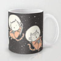 Cat-Stronauts Mug by Drew Brockington | Society6