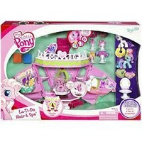 My Little Pony Ponyville La-Ti-Da Hair & Spa with BONUS SPECIAL EDITION 3 PONIES & EXTRA ACCESSORIES