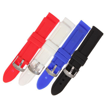 Fashion Silicone Men Women Waterproof Strap Watch Band