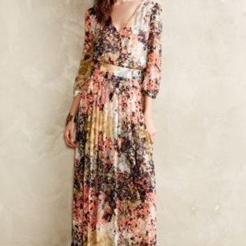 Equinox Pleated Maxi Dress