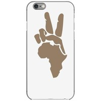 peace to africa iPhone 6/6s Case