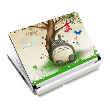 "Totoro laptop skin decal vinyl stickers for 12"" 12.6"" 13"" 13.3"" 14"" 14.1"" 15"" 15.4"" HP/DELL/ACER/asus notebook NEK1215-2555"