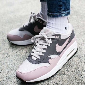 "Nike Air Max 1 Retro Running Shoes Sneaker ""Dark Pink"" 319986-032"