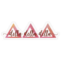 Tri Delta by Nat Pack