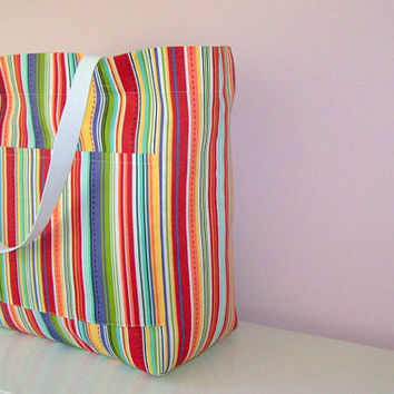 Oversized Beach Tote  Extra Large Tote  Beach Bag  by MaidenJane