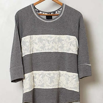 Anthropologie - Lace Corridors Sweatshirt