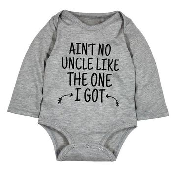 Ain't No Uncle Like Baby Onesuit