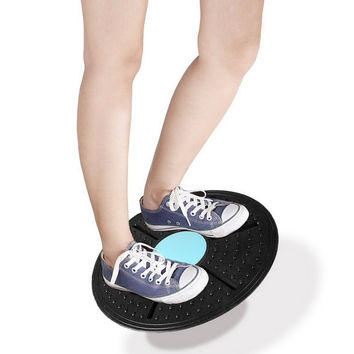 Balance Board Fitness Equipment ABS Twist Boards Support 360 Degree Rotation Massage For twist exerciser EA14