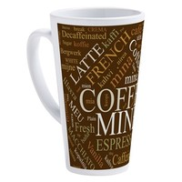 COFFEE -- MINE!! 17 OZ LATTE MUG