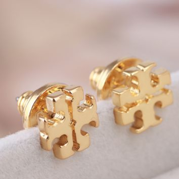 Tory burch two piece earrings