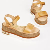 Free People Mellow Flatform Sandal