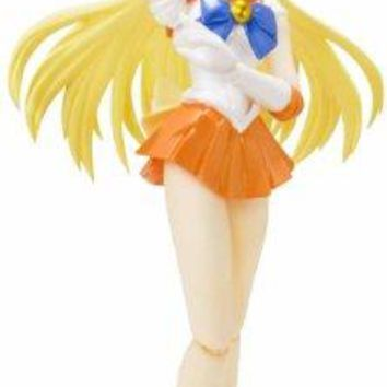 "Bandai Tamashii Nations S.H.Figuarts Sailor Venus ""Sailor Moon"" Action Figure"