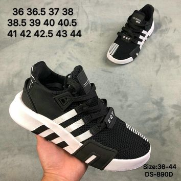 Adidas EQUIPMENT RUNNENG SUPPORT Men Women Fashion Casual Sports Running Shoes Black/White 2 Colors