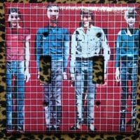 Talking Heads - More Songs About Buildings And Food: dual toggle light switch cover plate