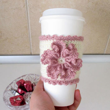 Cup sleeve, Coffee Cup Sleeve, Tea Cup Sleeve, Cup Cozy, Knitted cup cozy, Reusable cup sleeve, Cream cup sleeve, Mug warmer, Cup warmer