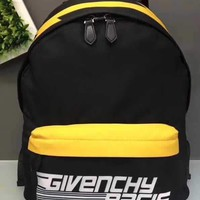 GIVENCHY MEN'S CANVAS BACKPACK BAG