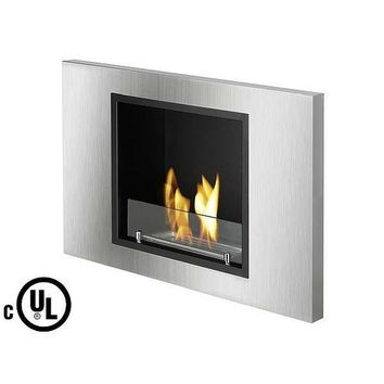 "Ignis Lima - 31"" Built-in/Wall Mounted UL Listed Ethanol Fireplace (WMF-105-UL)"